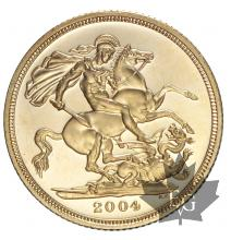 GRANDE BRETAGNE-2004-SOVEREIGN-PROOF