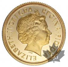 GRANDE BRETAGNE-2008-SOVEREIGN-PROOF