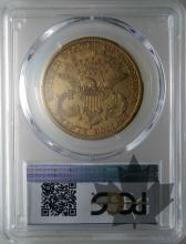 USA-1885S-20 DOLLARS-LIBERTY HEAD-TTB-SUP-PCGS XF40