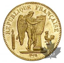 FRANCE-1849A-20 FRANCS-II REPUBLIQUE-SUP
