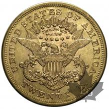 USA-1876S-20 DOLLARS-LIBERTY HEAD-TTB-SUP