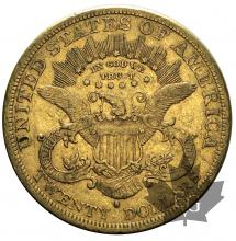 USA-1877S-20 DOLLARS-LIBERTY HEAD-TTB