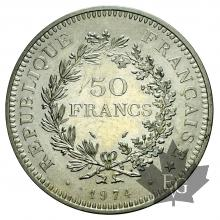 FRANCE-1974-50 FRANCS HERCULE-FDC
