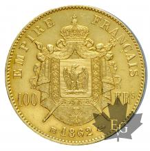 FRANCE-1862BB-100 FRANCS-prSUP