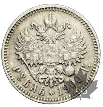 RUSSIE-1900-Rouble-TB