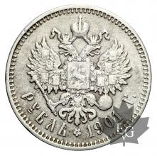 RUSSIE-1901-Rouble-TTB
