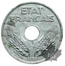 FRANCE-1944-20 CENTIMES-SUP