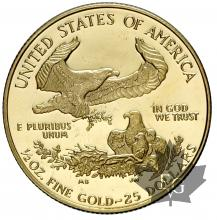 USA-1995W-1/2 ONCE-25 DOLLARS-PROOF
