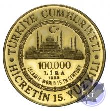 TURQUIE-1940-100.000 LIRE-PROOF