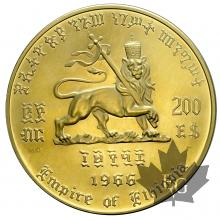 ETHIOPIE-1966-200 DOLLARS OR