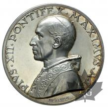 VATICAN-1939-MÉDAILLE-PIE XII-FDC