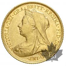 AUSTRALIE-1897S-HALF SOVEREIGN-TTB-SUP