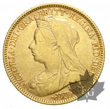 AUSTRALIE-1899M-HALF SOVEREIGN-TTB-SUP