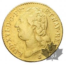 FRANCE-1786 AA-Louis XVI-LOUIS D'OR TÊTE NUE-TTB