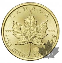 CANADA-2015-1 OZ MAPLE LEAF-FDC