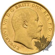 AUSTRALIE-1906 S-HALF SOVEREIGN-EDWARD VII-SUP