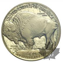USA-2006-50 DOLLARS-American Buffalo 1 once OR-FDC