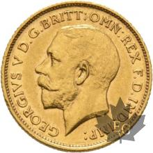 AUSTRALIE-1911 S-HALF SOVEREIGN-GEORGE V-SUP