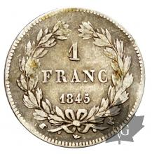 FRANCE-1845W-1 FRANC-LOUIS PHILIPPE I-TB-TTB