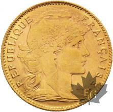 FRANCE-1911-10 FRANCS-MARIANNE-SUP