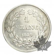 FRANCE-1839A-1 FRANC-LOUIS PHILIPPE I-prTTB