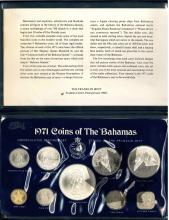 BAHAMAS-1971-SÉRIE UNC-SPECIMENT SET -FDC