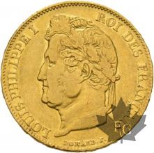 FRANCE-1832B-20 FRANCS-LOUIS PHILIPPE-ROUEN-TTB