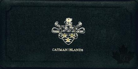 CAYMAN ISLANDS-1972-PROOF SET- SÉRIE BE