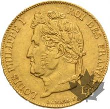 FRANCE-1844W-20 FRANCS-LOUIS PHILIPPE-LILLE-TTB+