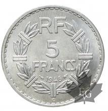 FRANCE-1946C-5 FRANC LAVRILLIER-SUP-FDC