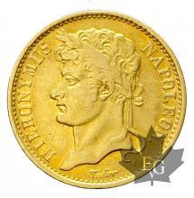 ROYAUME DE WESPHALIE-1811 C-20 FRANCS-JÉRÔME NAPOLÉON-TTB-SUP