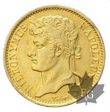 ROYAUME DE WESPHALIE-1809 C-20 FRANCS-JÉRÔME NAPOLÉON-TTB-SUP
