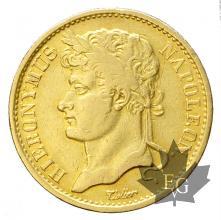 ROYAUME DE WESPHALIE-1808 C-20 FRANCS-JÉRÔME NAPOLÉON-prTTB