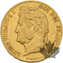 FRANCE-1832B-20 FRANCS-LOUIS PHILIPPE-ROUEN-TB-TTB