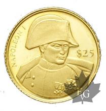 LIBERIE-2000-25-DOLLARS-NAPOLEON-1ER--PROOF