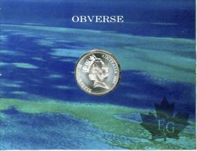 QUEENSLAND-1989-10 DOLLARS-FDC