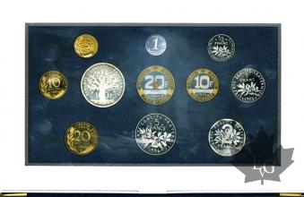 FRANCE-1996-SERIE PROOF-COFFRET BE FRANCS