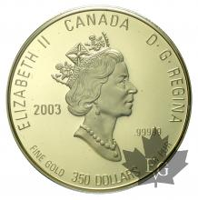 CANADA-2003-350 DOLLARS-PROOF