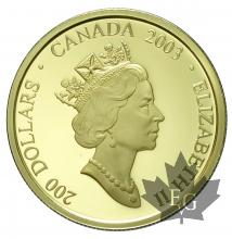 CANADA-2003-200 DOLLARS-PROOF