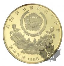 COREE-1988- 50.000 WON OR-PROOF