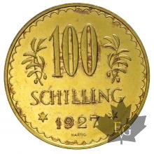 AUTRICHE-1927-100 SCHILLING-PROOF