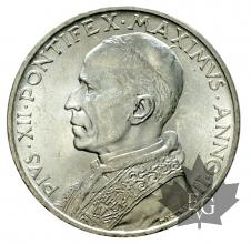 VATICAN-1940-AN II-5 LIRE-FDC-PIUS XII