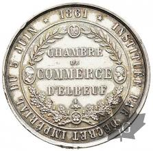 FRANCE-1861-CHAMBRE-COMMERCE-ELBEUF-SUP