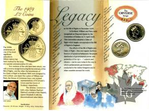 GRANDE BRETAGNE-1985-BRILLIANT UNCIRCULATED-2 POUNDS