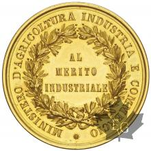 ITALIE-MÉDAILLE EN OR-Umberto I 1878-1900-FDC