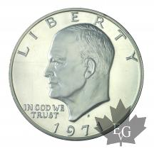 USA-1971S-1 DOLLAR-Eisenhower Dollar-PROOF
