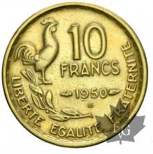 FRANCE-1950B-10 FRANCS- GUIRAUD-SUP