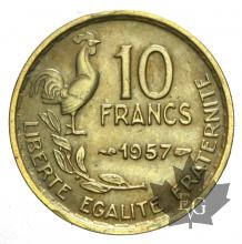 FRANCE-1957-10 FRANCS- GUIRAUD-SUP