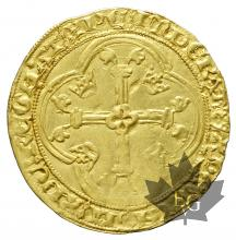 FRANCE-ECU D'OR-IIè PERIODE-Charles VII-II Émission-TTB-SUP