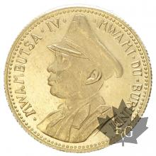 BURUNDI-1962-10 FRANCS-PROOF